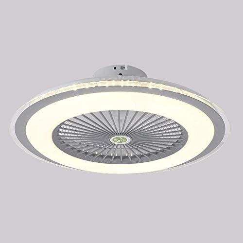 SFGH Ventilador de Techo LED, luz del Ventilador Moderno con Atenuación, 36W luz de Techo con Control Remoto, 3 velocidades de Control de Velocidad del Viento Dormitorio Sala Comedor Cuarto de niños