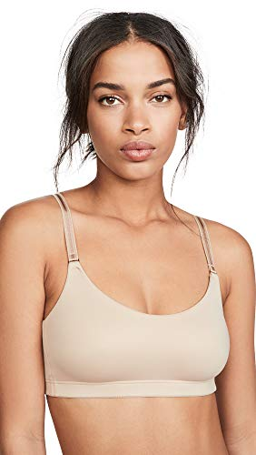 Natori Women's Soft Wear Bralette, Café, Tan, Small