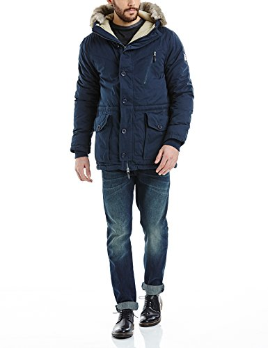 Bench Herren BREATH Jacke, Blau (Dark Navy Blue NY031), XX-Large