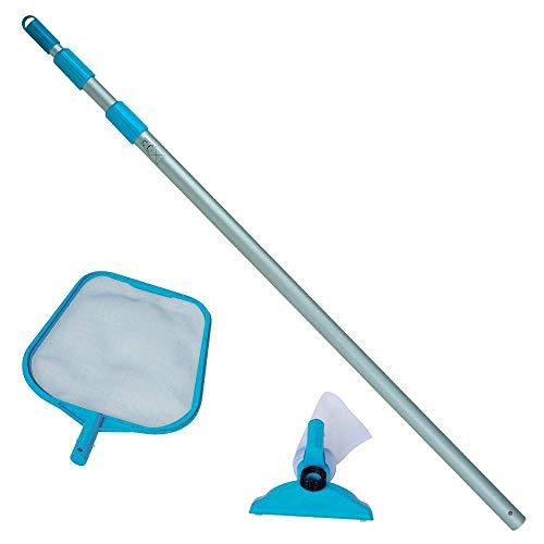 Intex Reinigungsset 58958/28002 Fischkescher Griff 235 cm Bürste Fer 220163