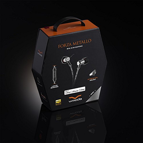 V-MODA Forza Metallo (Gunmetal Black)