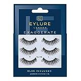 Eylure False Eyelashes Exaggerate No.178-3 pairs (Pack of 1)