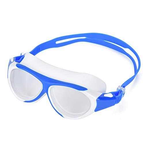 SALUTUYA Gafas de natación Impermeables para niños Equipo de natación Unisex Azul Oscuro con Estilo(Navy Blue)