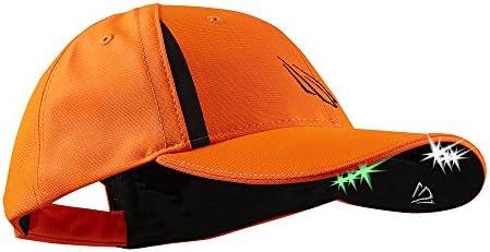 POWERCAP LED PRO Hat Ultra Bright Hands Free Lighted Battery Powered Blaze Orange CUB6 282597 product image