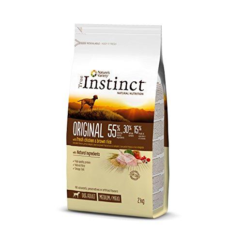 True Instinct Original - Nature's Variety - Pienso para Perros Medium Adult con Pollo - 2kg 🔥