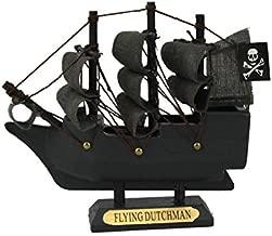 Wooden Flying Dutchman Model Pirate Ship 4