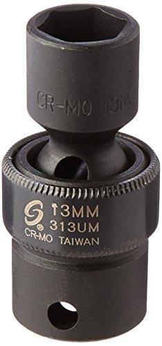 Sunex International 313UM 3/8' Drive Universal Impact Socket - 13mm