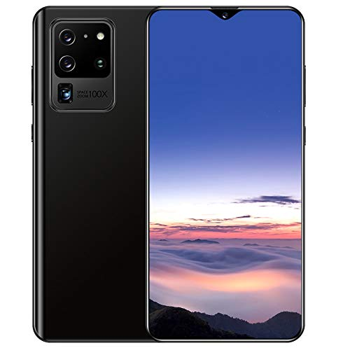 """Xyou Smartphones Unlocked Phones,S21U+ 18:9 Cell Phones Android 6.0 1GB+32GB Face ID 4G Mobile Phone Dual Standby Card 6.5"""" Smart Phone (Black)"""