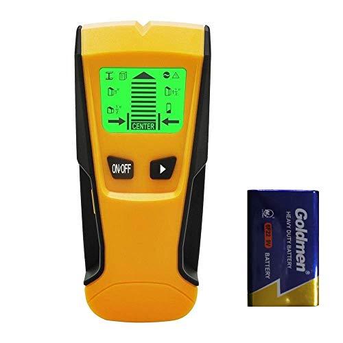 Flybiz Detector de Pared Encontrar Stud Finder con 3-en-1 Metal AC Alambres...