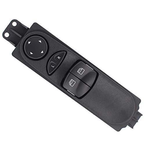 Fensterheber Schalter Vorne Link für Sprinter 3,5-T Bus Kasten 906 310 311 313 CDI 4x4 316 NGT 309 324 310 311 Crafter 2E 2F 2.0 TDI 2.5