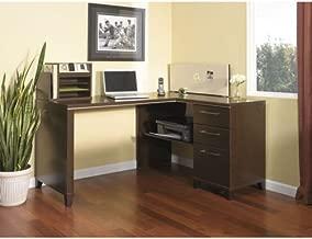 Bush Enterprise Corner Desk Mocha Cherry