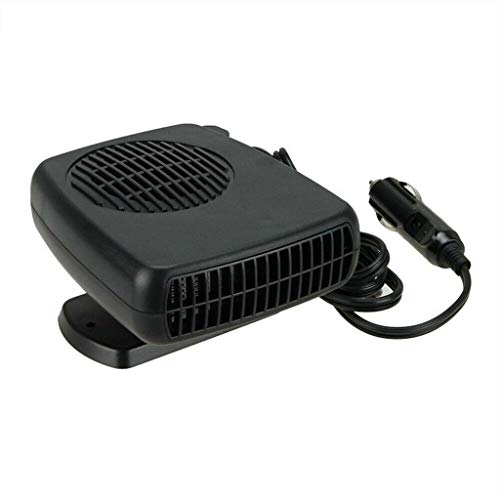 Auto-ontdooier, 360 graden draaibaar, van ABS, voor draagbare auto's, ventilatorkachel voor verwarmingstoestel en elektrische koelventilator, winter 24 V
