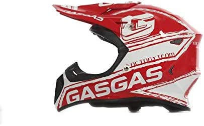 S Casco de motocross Enduro GASGAS Fibra