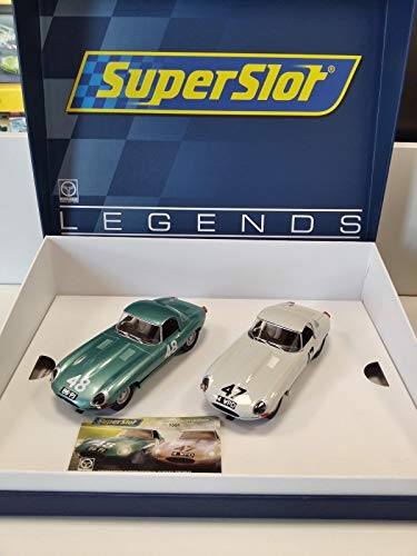 Superslot–Auto Slot, Colore: Bianco, Verde (Hornby h3898a)