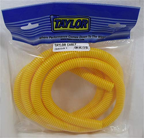 Taylor Cable 38581 Yellow Convoluted Tubing