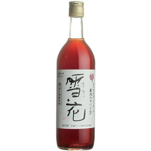 信濃ワイン雪花[赤ワインミディアムライト日本720ml]