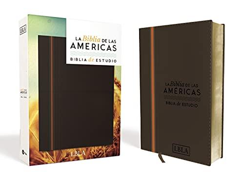 Compare Textbook Prices for Biblia de Estudio, LBLA, Leathersoft / Spanish Study Bible, LBLA, Leathersoft Spanish Edition Box Lea Edition ISBN 9780829768077 by La Biblia de las Américas  LBLA