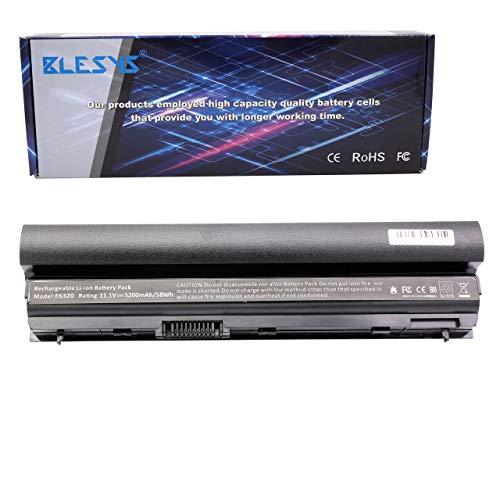 BLESYS 4400mAh RFJMW Batería para DELL Latitude E6320 E6230 E6430S E6330 E6220 E6120 Serie FRR0G K4CP5 312-1241 312-1381 YJNKK NGXCJ Ordenador portátil 11.1V