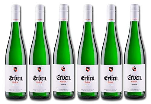 Erben Auslese Edelsüß – Weißwein aus Deutschland – Prädikatswein – 6 x 0,75 l