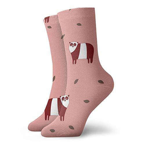 harry wang socken damen 39-42Pandas - Pink_3622, farbenfrohes rutschfestes für männer frauen 100prozent baumwolle eine größe.