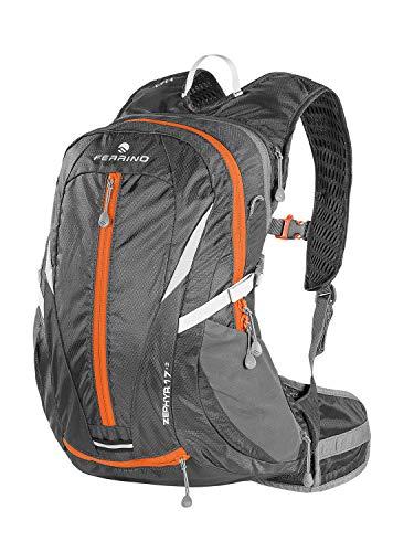 Ferrino Zephyr, Zaino da Hiking ed Escursionismo Unisex, Nero, 17 + 3 L
