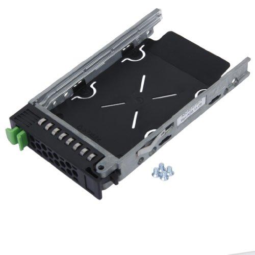 Unbekannt Ersatz 2,5 Zoll SAS SATA HDD Festplatte Tablett Caddy für Fujitsu Primergy RX600 RX200 RX300 RX900