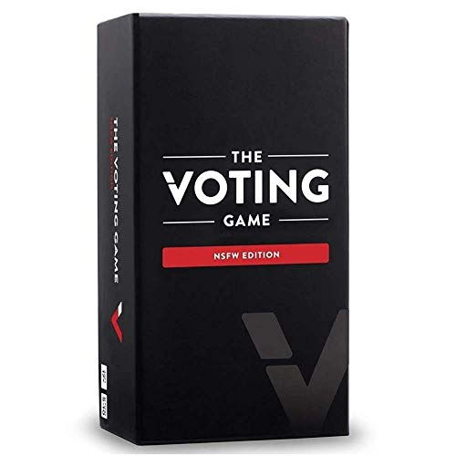 The Voting Game Card Game: The Party Game About Your Friends - NSFW Edition