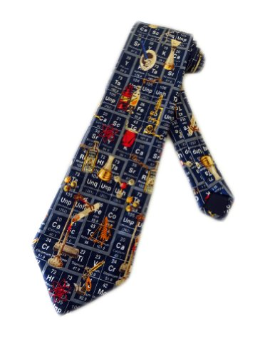 Chemistry Science Necktie
