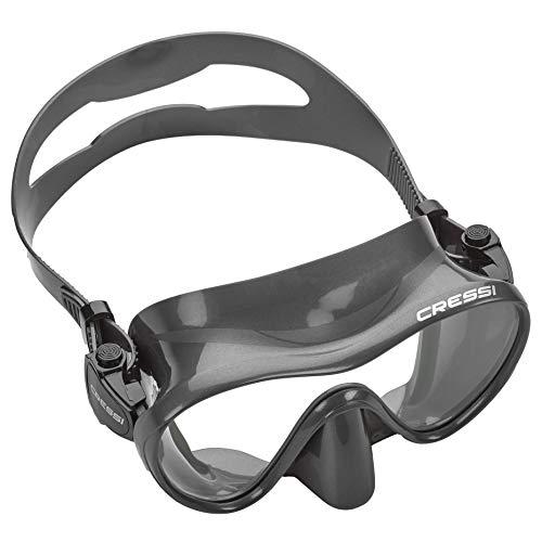 Cressi F1 Scuba Diving Snorkeling Frameless Mask, Titanium