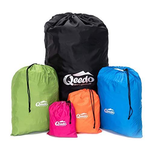 Qeedo Organizer Bags, Packbeutel Set für Rucksack, Koffer und Camping