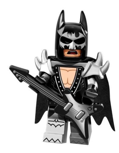 LEGO La Batman película Glam Metal Batman