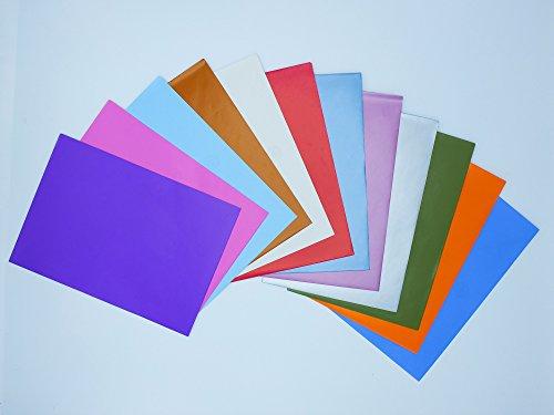 Paquete de sobres Cuartilla coloridos marca Edicards. 150 unidades. Tamaño 23x16 cm.
