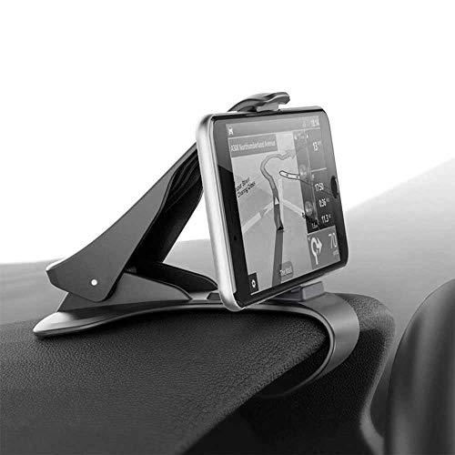 Ociodual Support T?l?Phone Voiture Universel Fixation sur Tableau de Bord GPS Noir