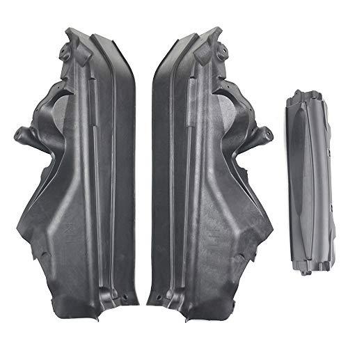 SCSN 51717169419 3pcs Engine Upper Compartment Partition Panel Set For BMW X5 E70 X6 E71 E72