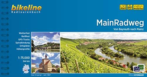 MainRadweg: Von Bayreuth nach Mainz.1:75.000, 544 km (Bikeline Radtourenbücher)