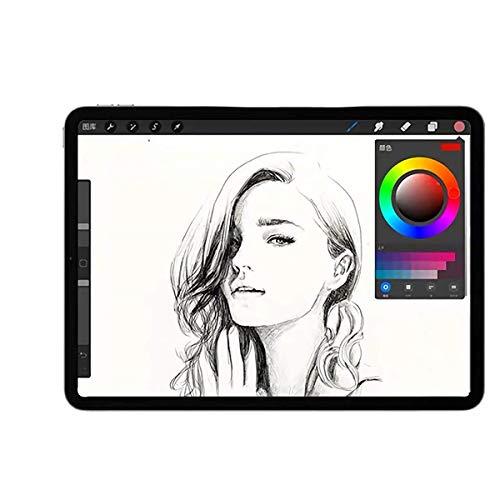 JPフィルター専門製造所 iPad Pro 12.9 2018-2021年モデル用のペーパーライク フィルム 2021年 紙のようなフィルム 紙のような描き心地 反射低減 非光沢 アンチグレア ペン先磨耗防止 保護フィルム