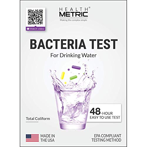 Product Image of the Coliform Bacteria Test Kit