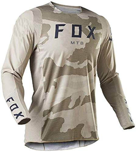 Maillot MTB Hombre Fox Cycling Jersey Long Sleeve Downhill Jersey Foxmtb Racing...