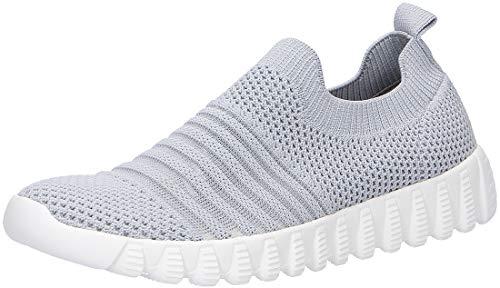 Bernie Mev BM94 Wylie - Damen Schuhe Sneaker - 080-light-grey, Größe:38 EU
