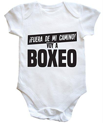 HippoWarehouse ¡FUERA DE MI Camino! VOY A Boxeo Body Bodys Pijama niños niñas Unisex