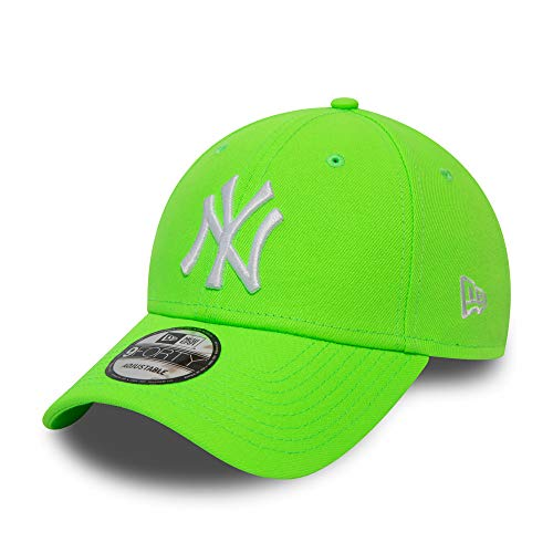 New Era New York Yankees MLB Cap verstellbar 9Forty Basecap Kappe neon grün - One-Size