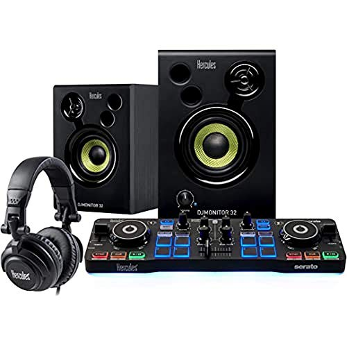 Hercules DJStarter Kit: Das komplette Kit um Djing mit Serato DJ Lite anzufangen
