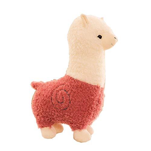 Morbuy Peluche Relleno, Alpaca de Peluche Juguete de Peluche Suave Lindo Animals 28cm/35cm/45cm, Mejores Regalos para niños (35cm/13.8inch, Rosa)