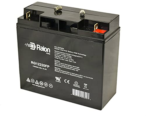 Raion Power 12V 22Ah Replacement AGM Battery for...