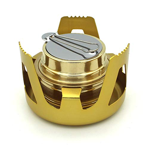 lefeindgdi Mini Camping Stove, Portable Mini Camping Camping Stove Lightweight Backpack Windproof Stove, For Outdoor Camping Cooking Picnic