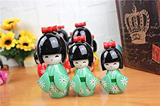 Ufcell Japanese Doll Kimono Doll (3 Pieces in 1 Set Home Decor Restaurant Bedroom Decorations Dolls for Girls Women Novelty