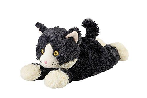 """Warmies® Wärmekissen/Stofftier\""""Katze liegend schwarz\"""" Hirse Lavendelfüllung 40cm 700g"""