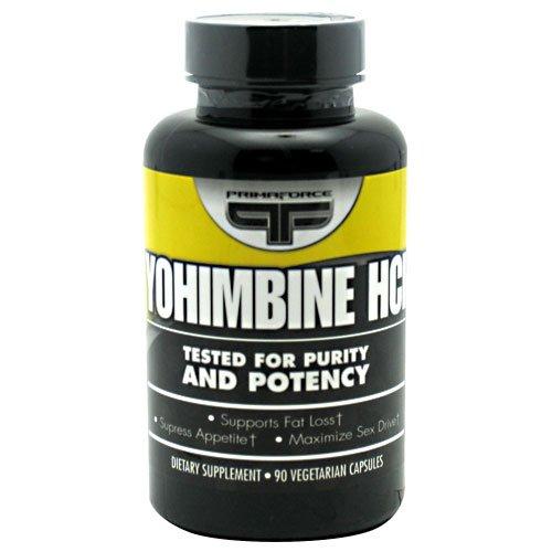 Primaforce Yohimbine HCl - 90 Vegetarian Capsules