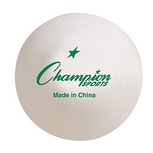 Great Price! Table Tennis Balls - Set of 6 Tubes (36 Balls)