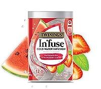 TWININGS Infuse 水出しフルーツティー TB 30g(12バッグ入) (海外直送品) (スイカ&いちご&ミント)
